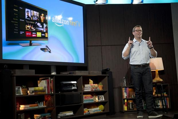 Amazon lights a Fire in living room with new TV set top box